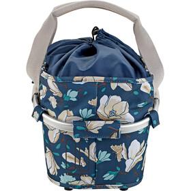 Basil Magnolia Carry All Cesta Rueda Trasera, azul